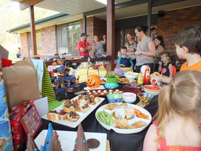 Fealy Family in there somewhere - Jack's 7th Birthday