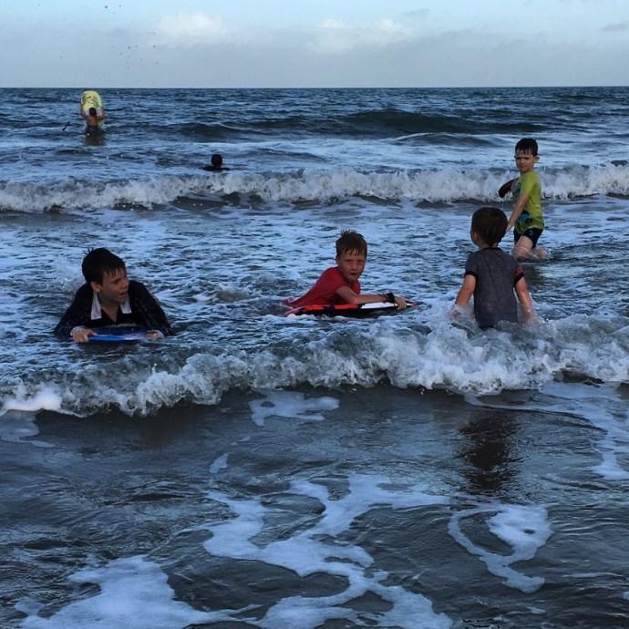Mission Beach is always fun!