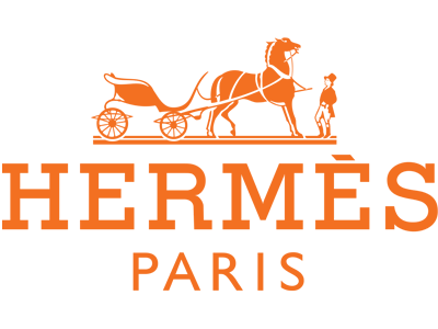Hermés 8-Ties Exhibition at The Shops at the Bravern Logo