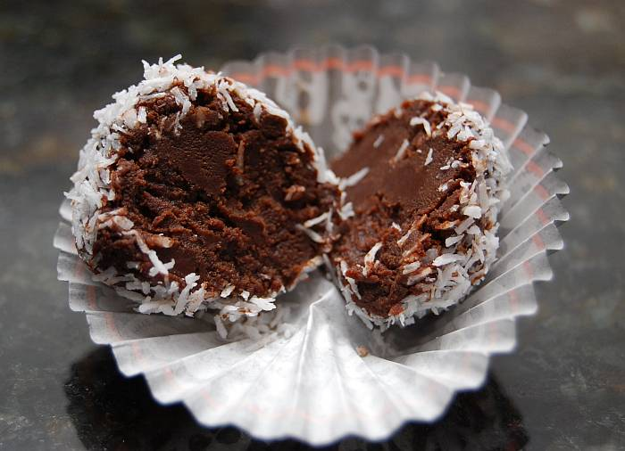 Dairy Free Chocolate Truffles - Vegan, Gluten Free, Soy Free, Allergy Free - Fearless Food Allergy Mom
