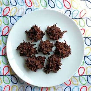 Chocolate Coconut Haystacks - Fearless Food Allergy Mom