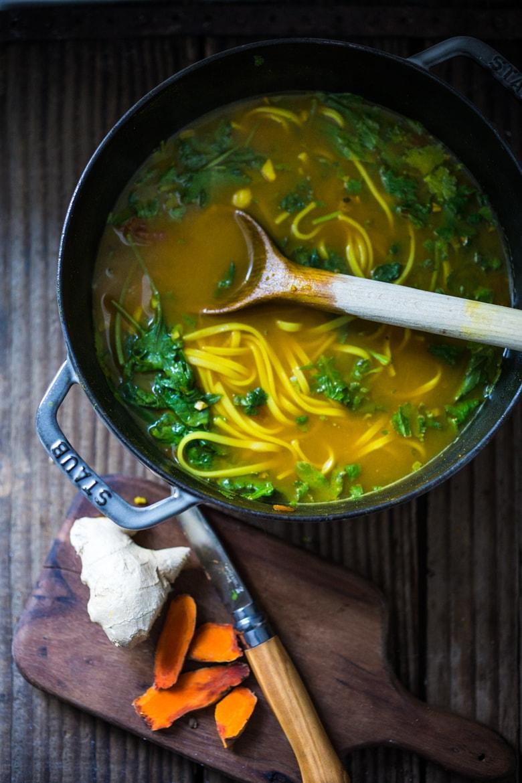 Turmeric Detox soup