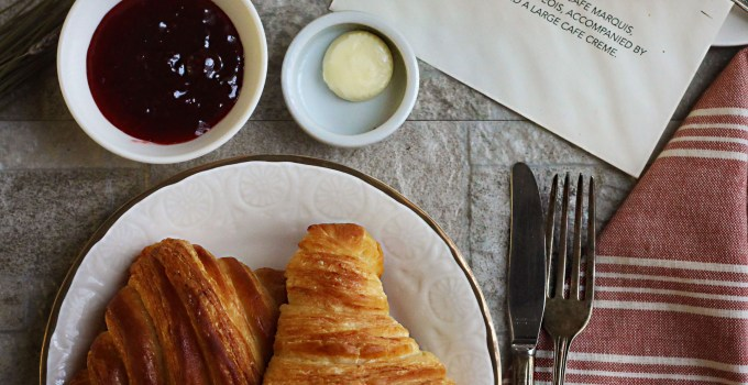 Me Before You: Croissants