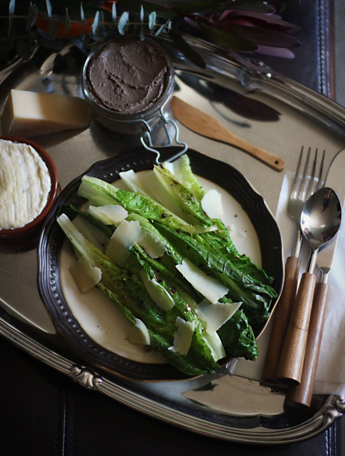 American Horror Story: Hotel - Grilled Romaine Salad and Pate