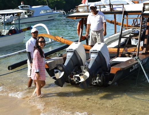 aman boat on