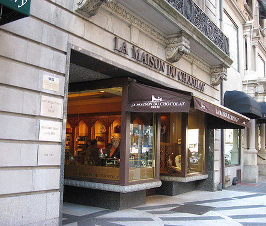 La Maison du Chocolat in New York, via