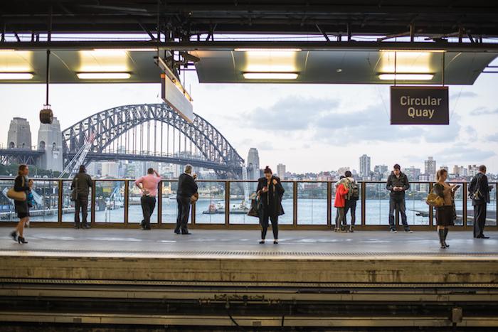 Sydney Subway Circular Quay
