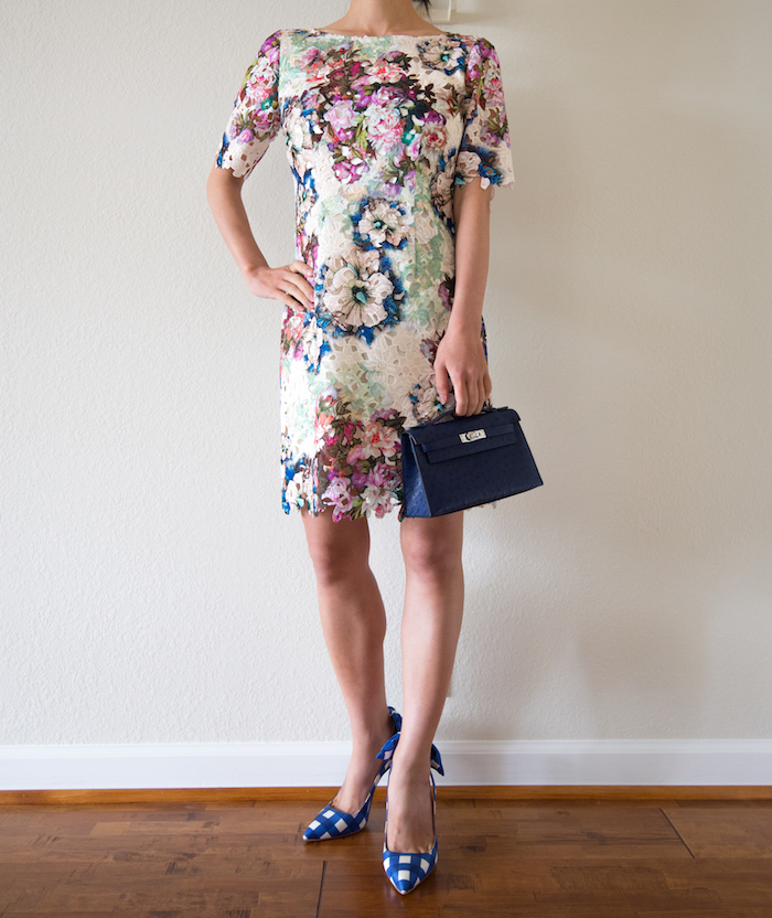 Tahari Floral Dress