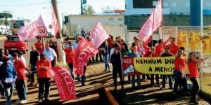 Dia Nacional de Ação no Walmart em todo o Brasil