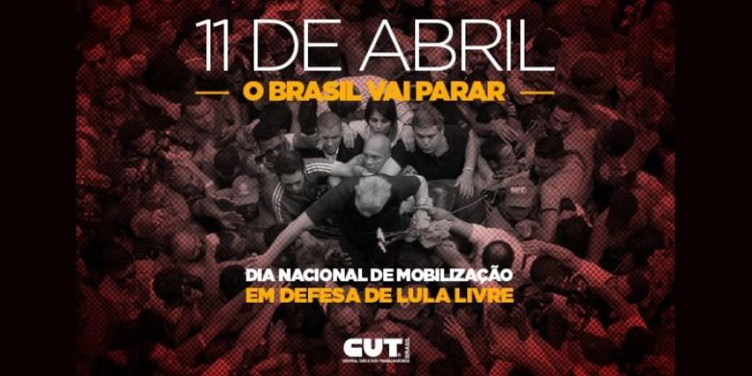 11 de abril Dia Nacional de Luta
