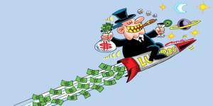 Enquanto os bancos têm lucros bilionários, 62% dos brasileiros estão endividados