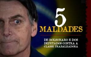 Confira cinco maldades da reforma de Bolsonaro que 370 deputados aprovaram
