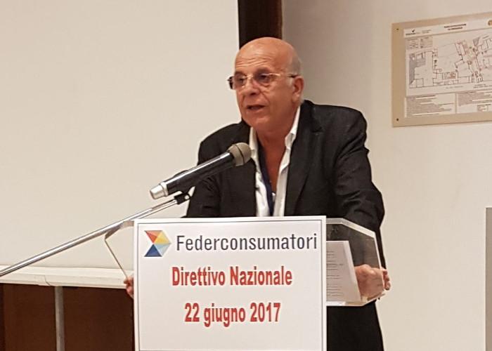 Emilio Viafora Presidente Nazionale Federconsumatori