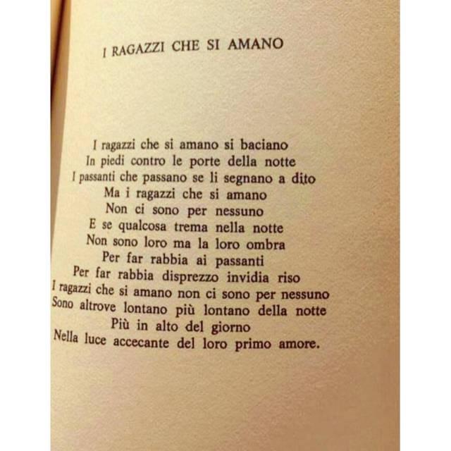 I T Rimane sempre una delle mie poesie preferite hellip