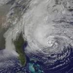 Hurricane Sandy Satellite Picture