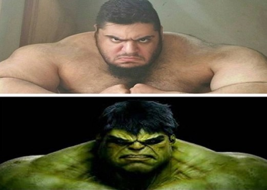 Meet This Gloriously-Angry Iranian Hulk; You Won't Believe, But Actually Exits In Real-Life