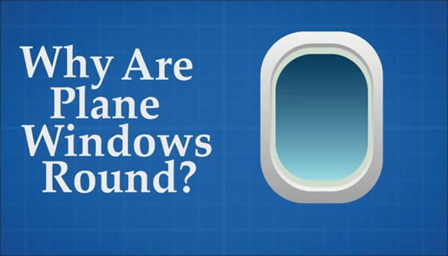 Ever Noticed Why Plane Windows Are Always Elliptical???