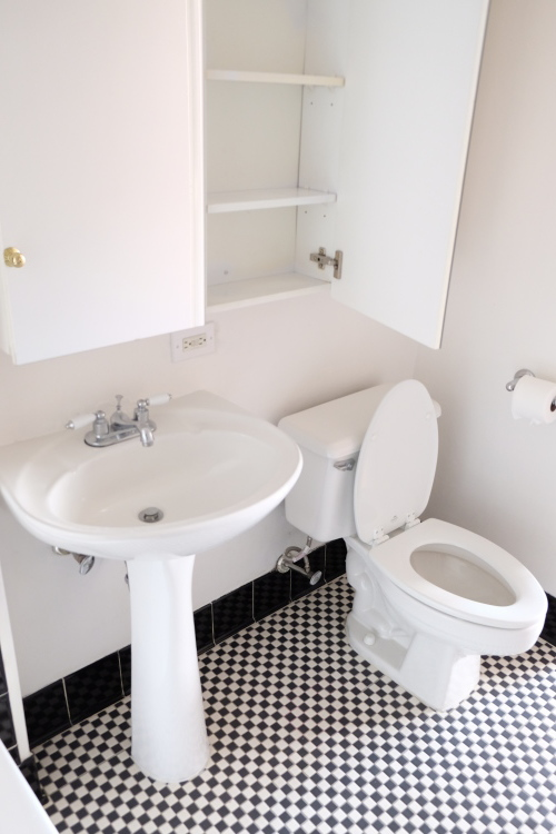 toilet and sink bathroom