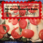 Recipe: Pesto Zucchini No-Pasta Lasagna Featuring Quorn
