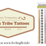 Try Some Shiny Temporary Body Art From Golden Tribe Temporary Tattoos