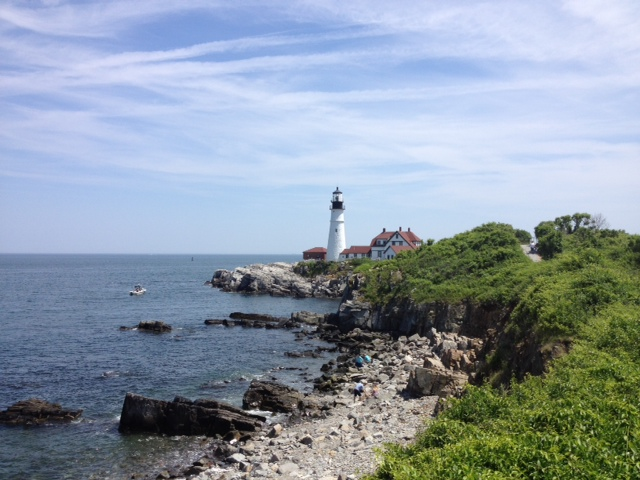 A little picture I took at Fort Williams Park, Maine.