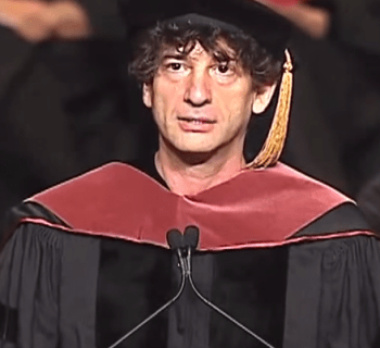 Neil Gaiman Inspirational Speech
