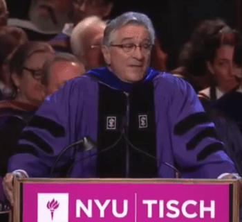 Robert De Niro Commencement Speech