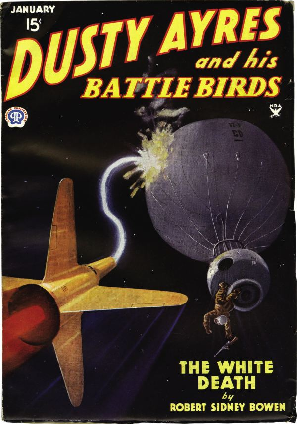Dusty-Ayers-and-His-Battle-Birds-January-1935-