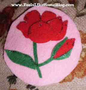 Isaiah - Rose ornament