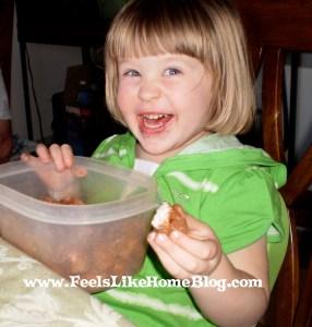 Irish potato candy is tasty!