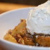 My Favorite Apple Crisp Recipe