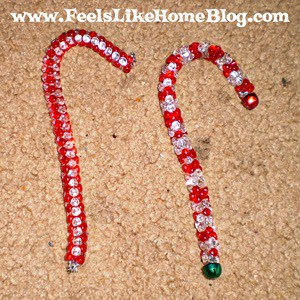 preschool craft candy canes