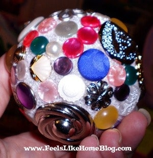 button ornament for preschoolers