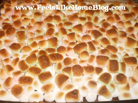 Toasted S'mores Bars