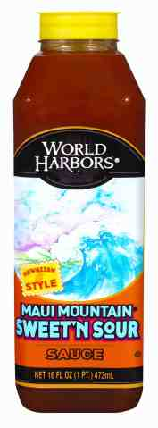 World Harbors Maui Mountain Sweet n Sour Sauce