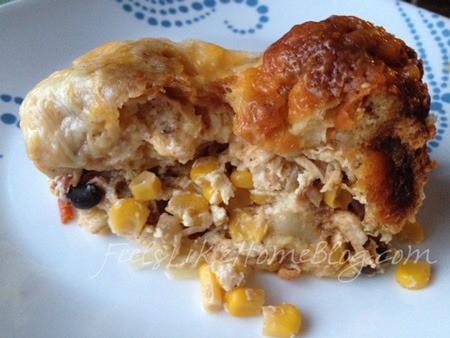 jalapeno chicken corn bake