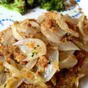 Honey Mustard Tilapia with Onions and Broccoli #HollandHouseCW