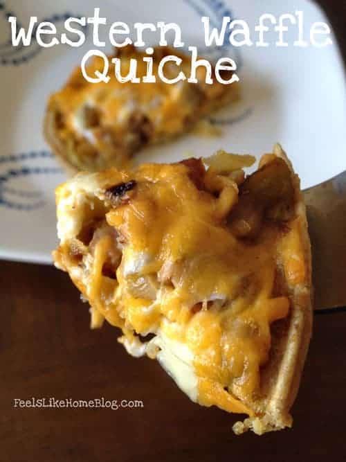 Western Waffle Quiche