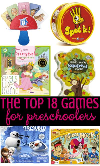The Best Games for Preschoolers
