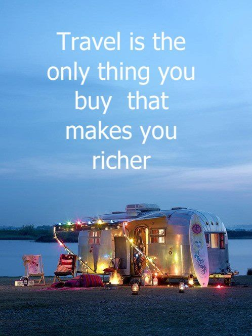 travel makes you rich