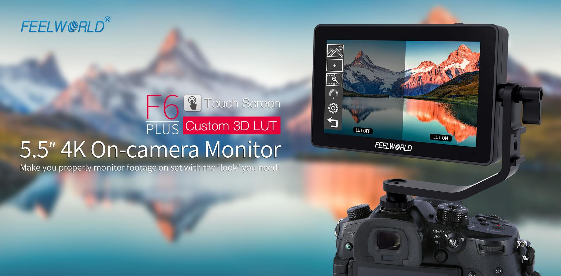3d lut touch screen monitor