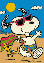Snoopy in Summertime