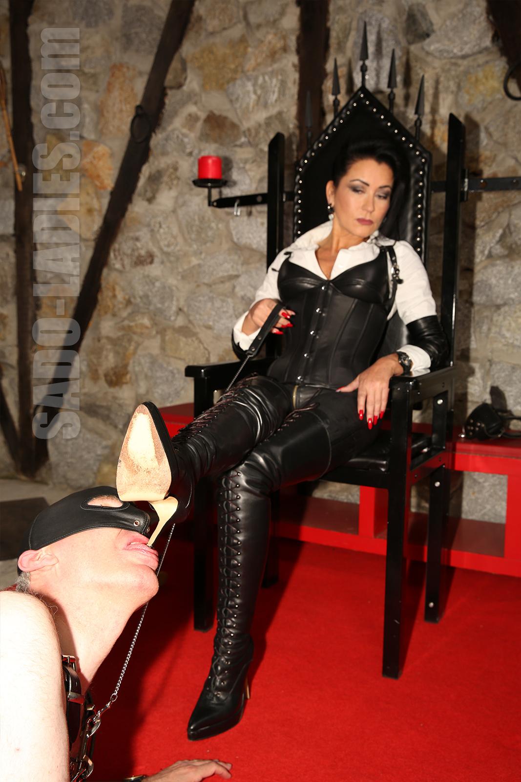 chastity mistress captions