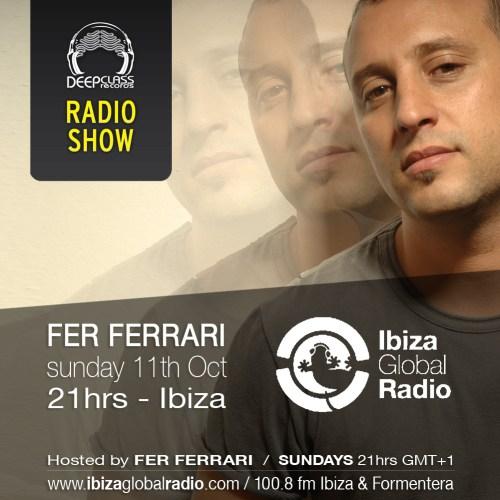 Oct 2015 - Ibiza Global Radio