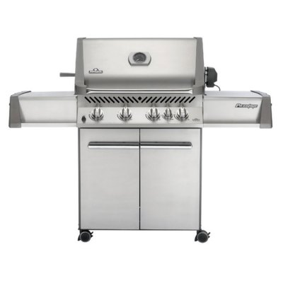 Napoleon Prestige 500 with Rear Burner, Gas, Freestanding Barbeque