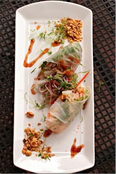 J Sams Shrimp Banh Mi Spring Roll