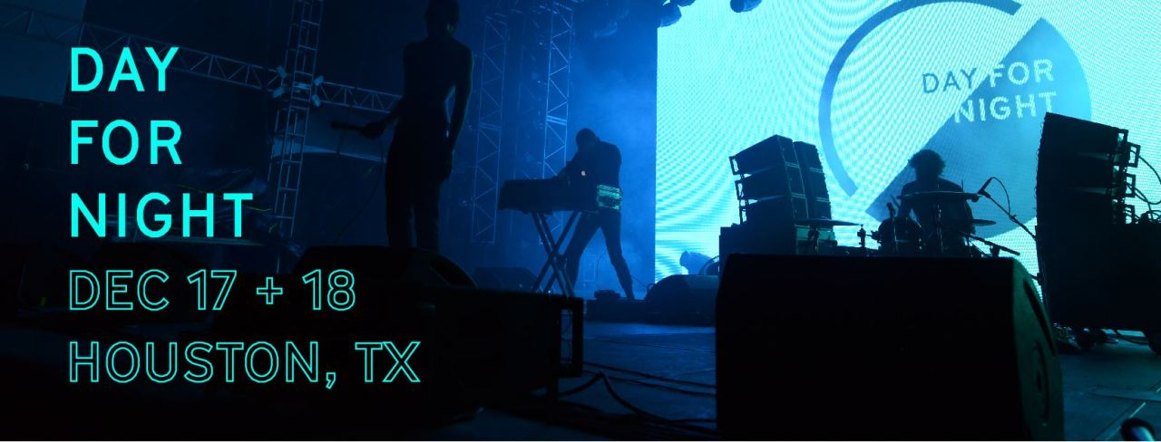 When Light and Sound Collide in Houston, You Have Day for Night