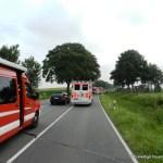 Verkehrsunfall eingeklemmte Person Lembrucher Str. 23.07.16 01