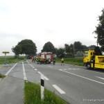 Verkehrsunfall eingeklemmte Person Lembrucher Str. 23.07.16 08