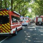 Verkehrsunfall eingeklemmte Person Voerdener Str. Hinnenkamp 18.08.16 26
